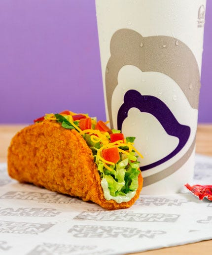 GrubGradeReview: Naked Chicken Chalupa from Taco Bell
