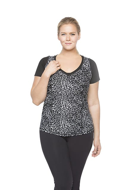 Including plus size sports bras and matching pants sets, athletic shorts, workout capris and more, our plus size exercise clothes and fitness wear come with serious attitude. Our athletic-wear pieces have performance-enhancing features like lightweight wicking fabric .
