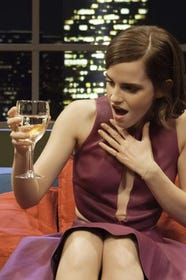 Emma Watson Funny Goofy Red Carpet Pictures