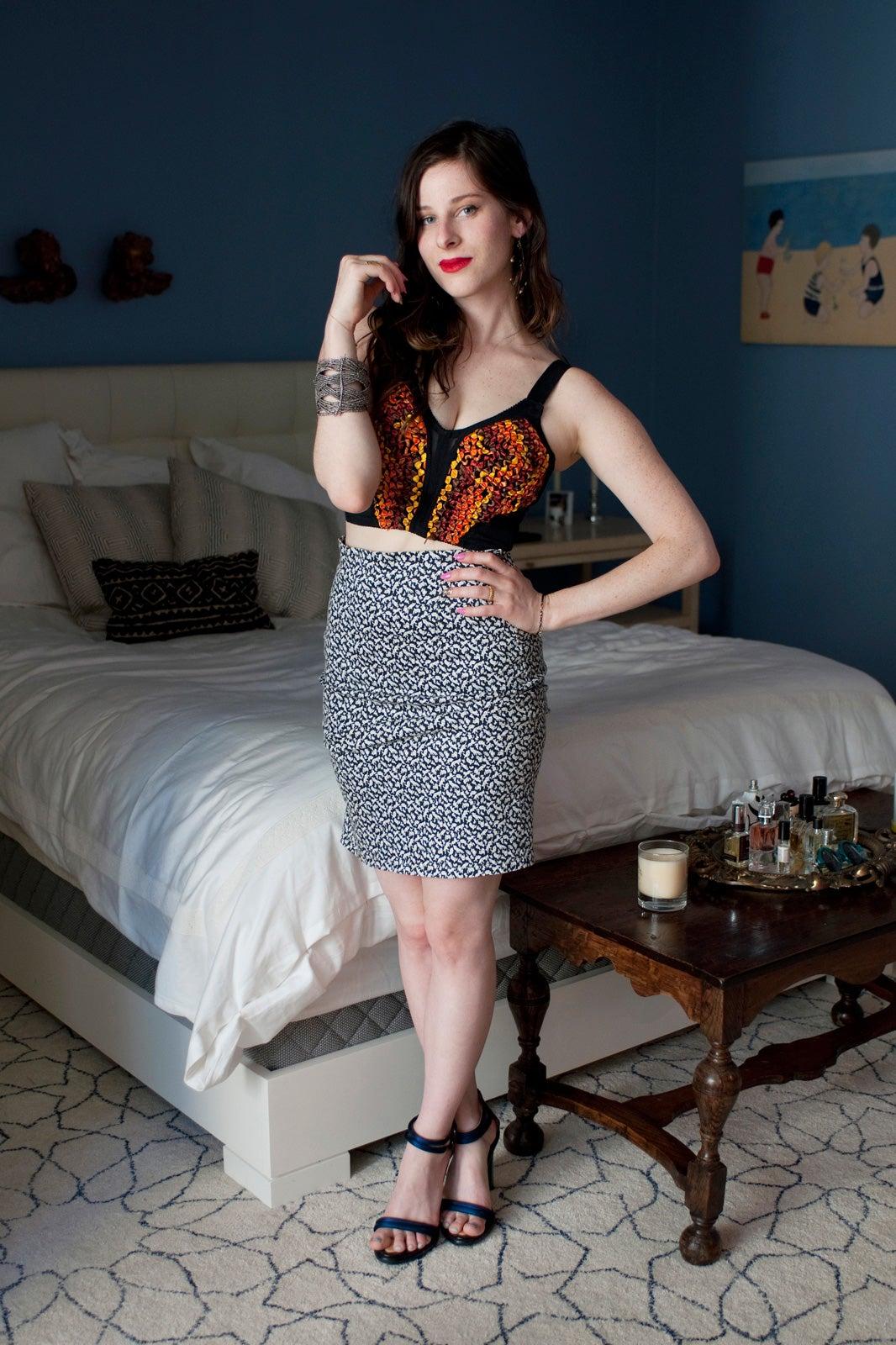 sasha spielberg interview and photos