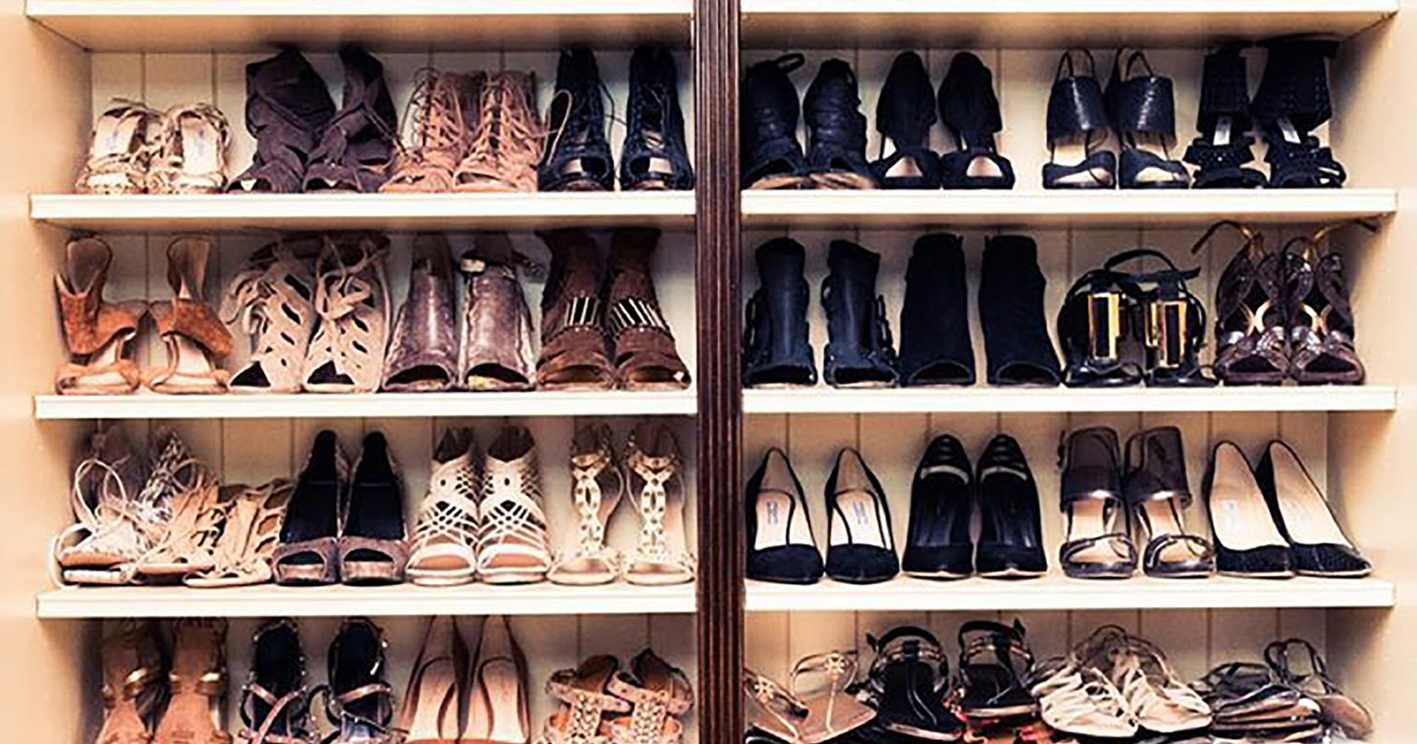 Best Celebrity Closets Big Walk In Closets