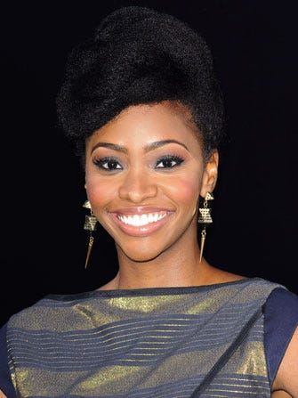 """Teyonah Parris Thought Her Natural Hair Wasn't """"Beautiful"""""""
