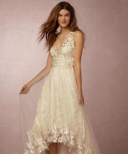 Marchesa Wedding Gown: BHLDN Marchesa Collaboration Wedding Gowns