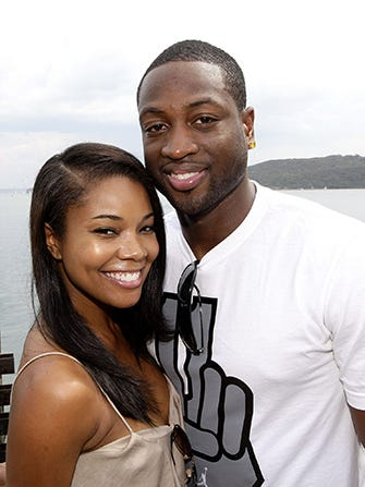 Gabrielle union dwyane wade wedding dress married 1gabmain junglespirit Gallery