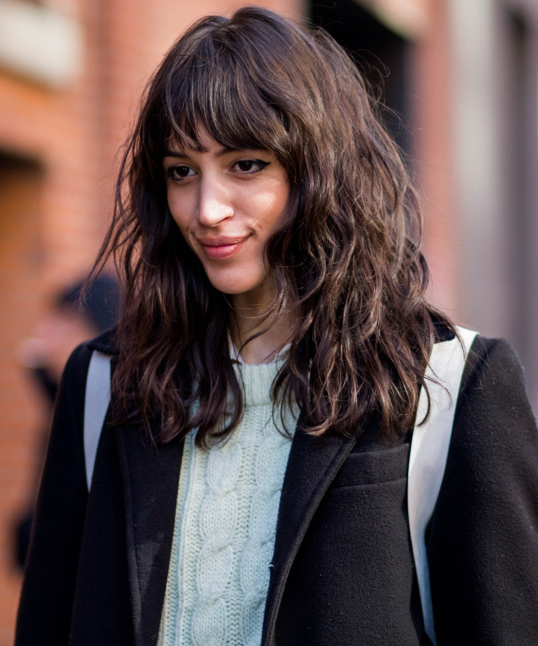 Nyc Street Style Bangs Hairstyle Hair Trend Photos 2017