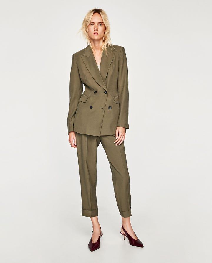 Zara Blazer Fashion Trend
