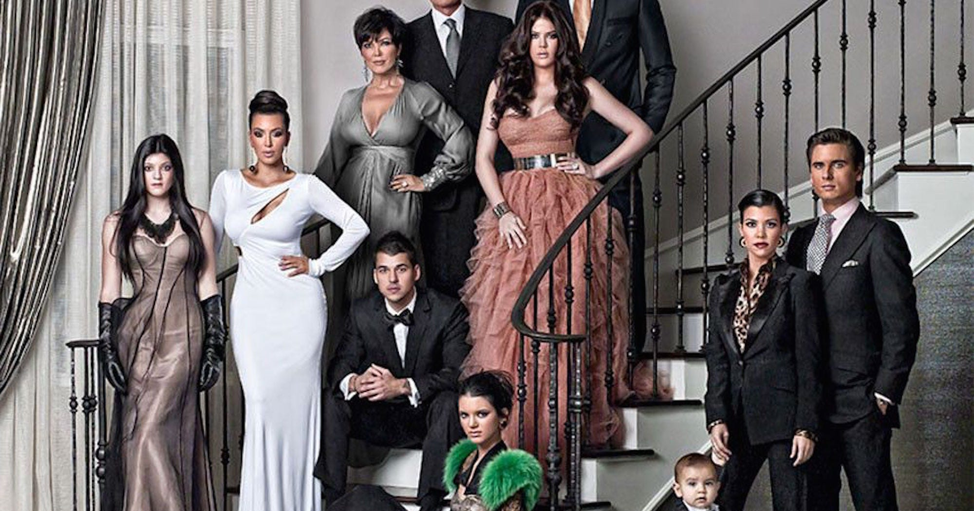 Kardashian Christmas Card Through The Years Photos