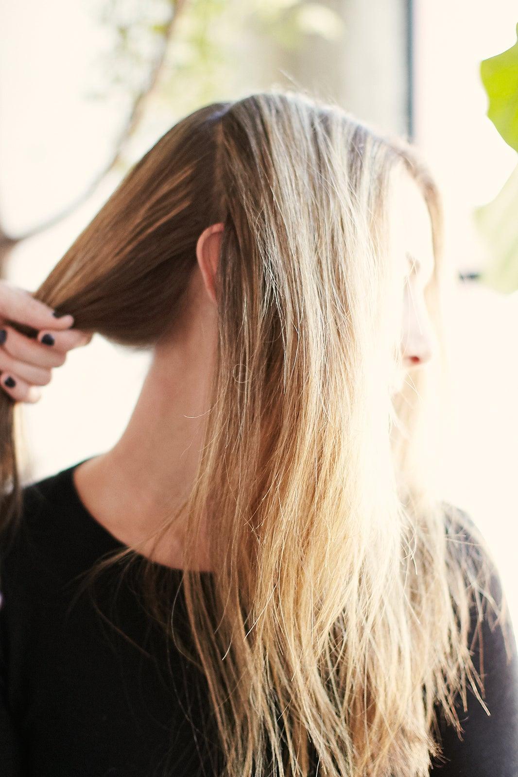 Причёски с грязных волос