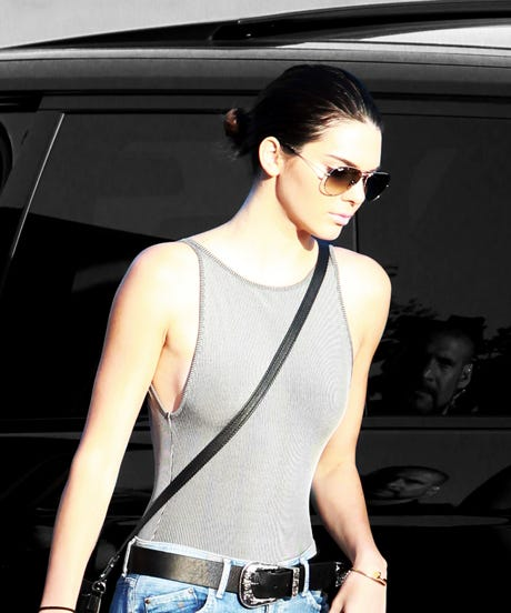 Kendall Jenner Bodysuit Outfit