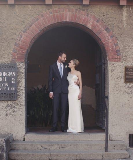 Evan Sharp Chistina Mcbride Wedding Pinterest Founder