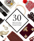30 Festive Holiday Wardrobe Essentials