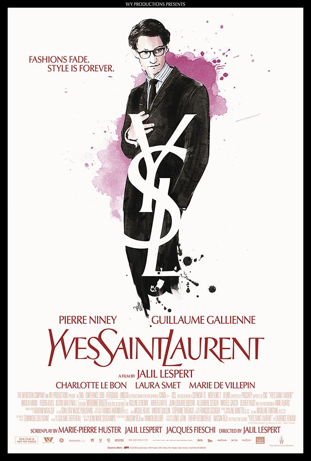 The Yves Saint Laurent Movie Poster Is Revealed Right Here!