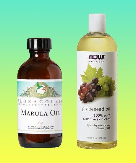 Coconut Oil Alternatives Grapeseed Jojoba Argan