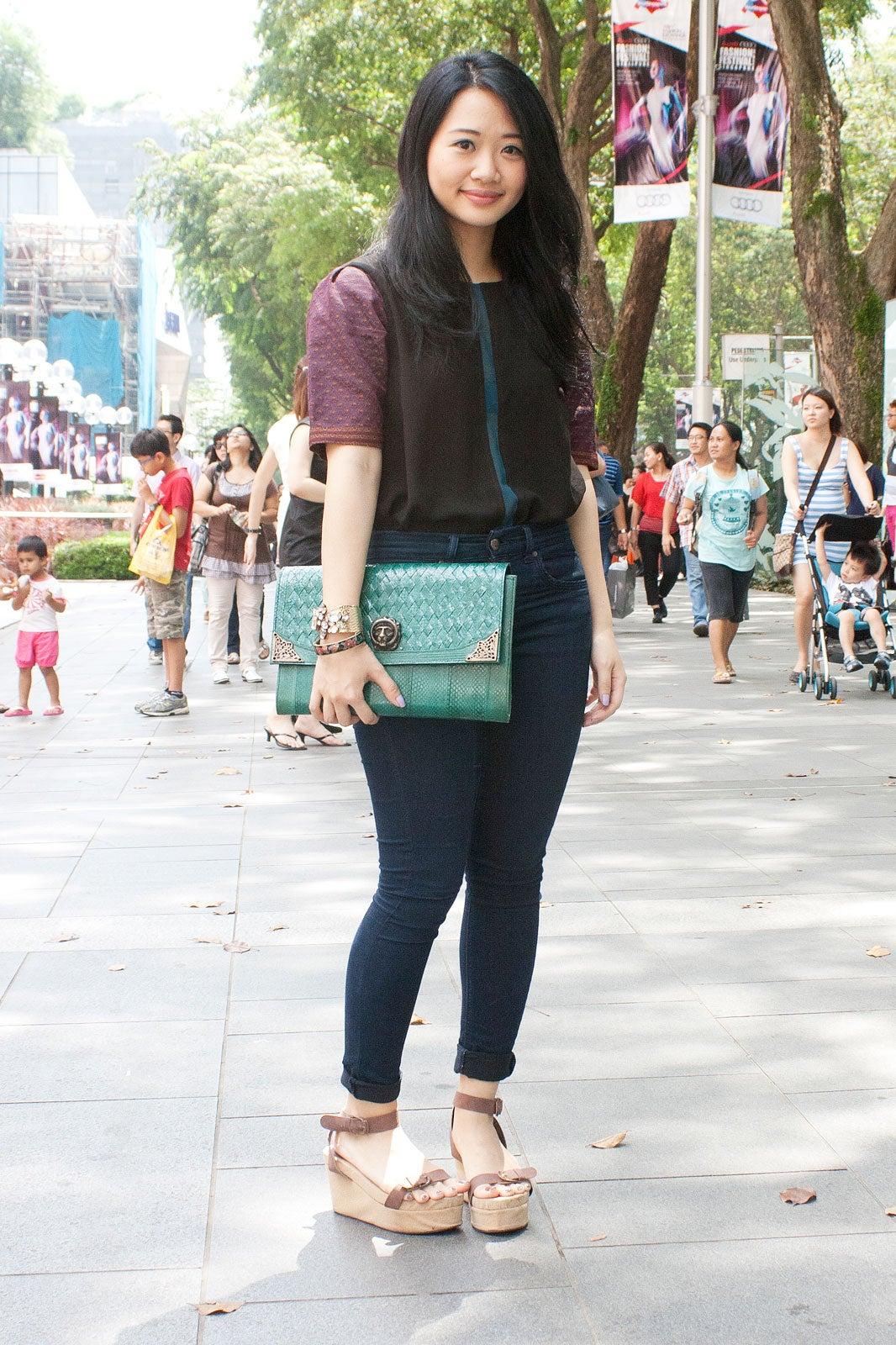 Singapore Street Style Fashion From Singapore