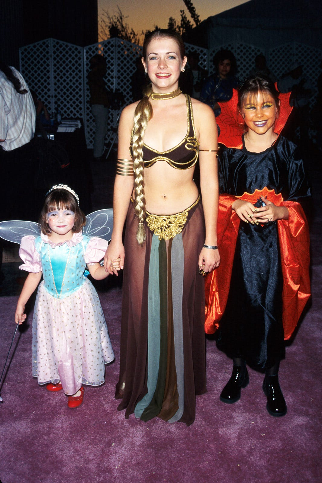 See How Celebrities Did Halloween in the '90s | Who What Wear