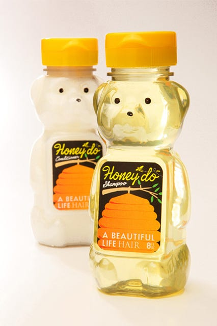 cute makeup packaging. this stuff is the bees\u0027 knees. although it\u0027s made with organic honey, probably best you keep it away from kitchen, just in case. cute makeup packaging g