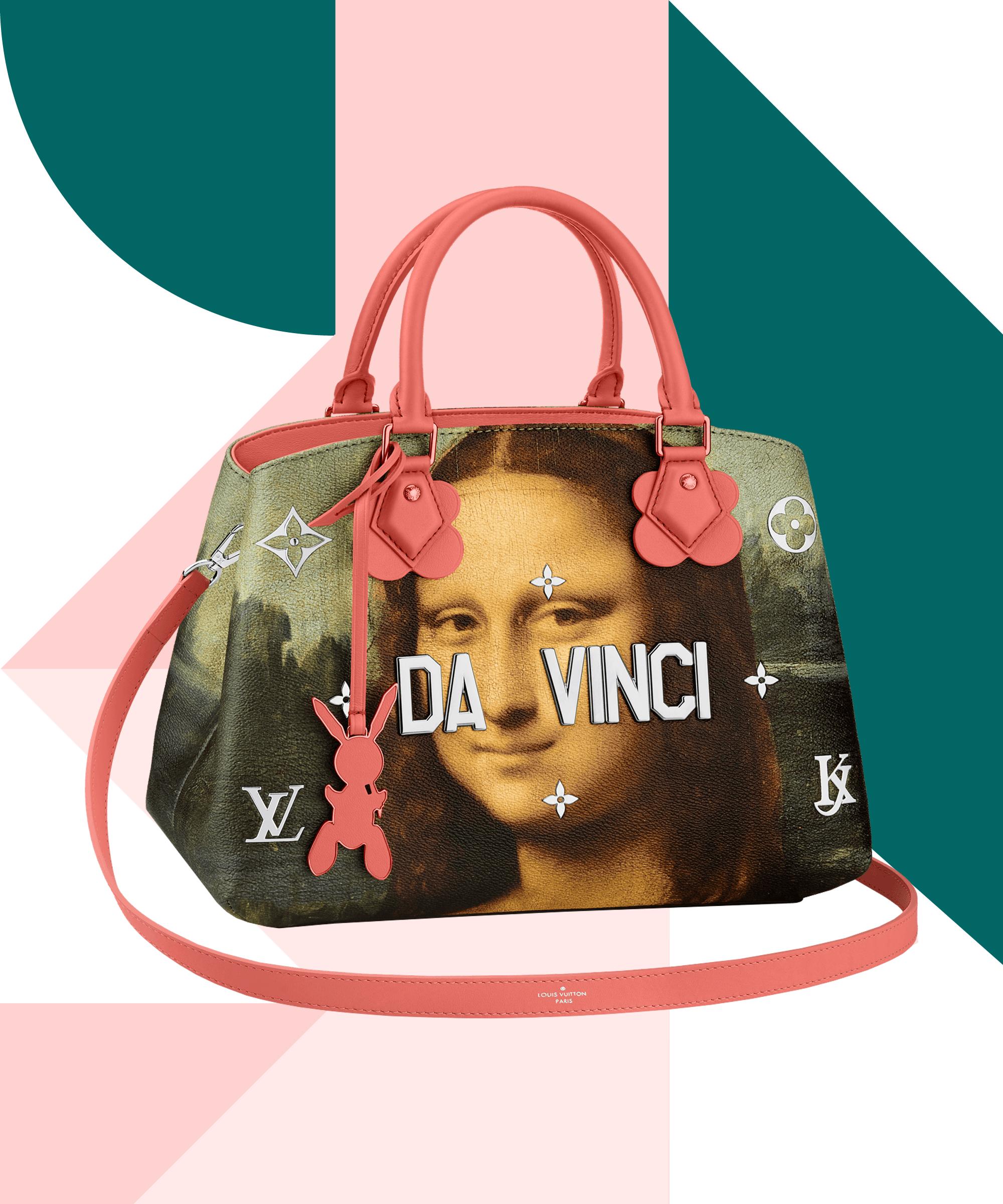 Louis vuitton jeff koons collaboration handbags for Louis vuitton bin bags