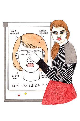 Haircut Tips Fix Bad Hair
