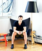 Inside Sean Avery's Slick Soho Loft (And Super-Luxe Wardrobe)