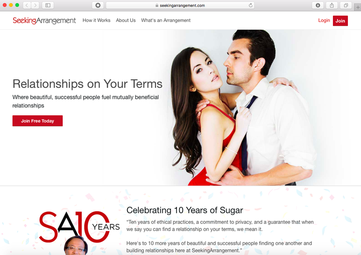 Top 10 Sugar Baby Websites on the Web in 2019