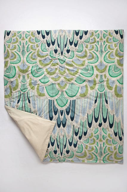 Mara hoffman launches anthropologie home decor for Mara home decorations