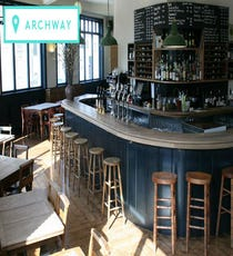 Described by some as the new Dalston, Archway's appeal lies in its independent, not-quite-gentrified surroundings. Archway Market has plenty of buzz, while shops like Base Camp and Resurrection vintage boutique always turn up unique buys. After working up an appetite, treat yourself to critically acclaimed seafood and modern British classics at St. John's Tavern. You just might be calling your letting agent before dessert arrives.  Base Camp, 637A Holloway Road, N19 5SS; +44 (0) 207 281 1976.Resurrection vintage boutique, 3A Archway Close, N19 3TD; +44 (0) 207 263 2600.  St. John's Tavern, 91 Junction Road, N19 5QU; +44 (0) 207 272 1587.
