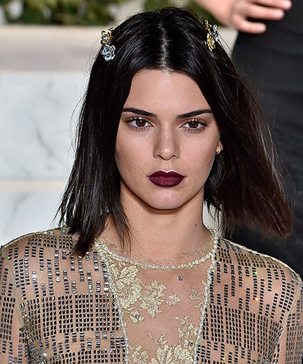 Kendall Jenner Short Hair Bob Haircut New