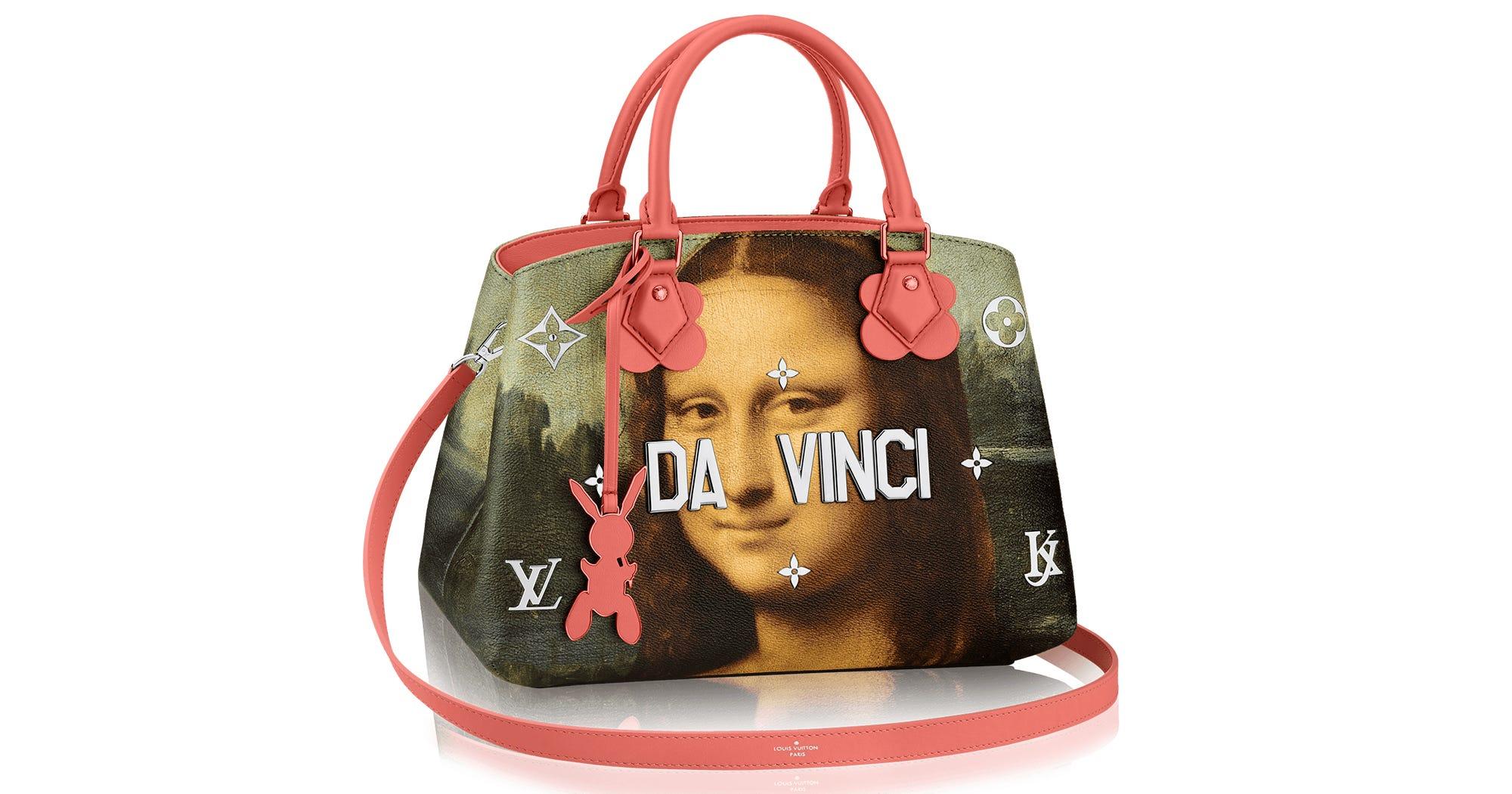louis vuitton jeff koons collaboration handbags