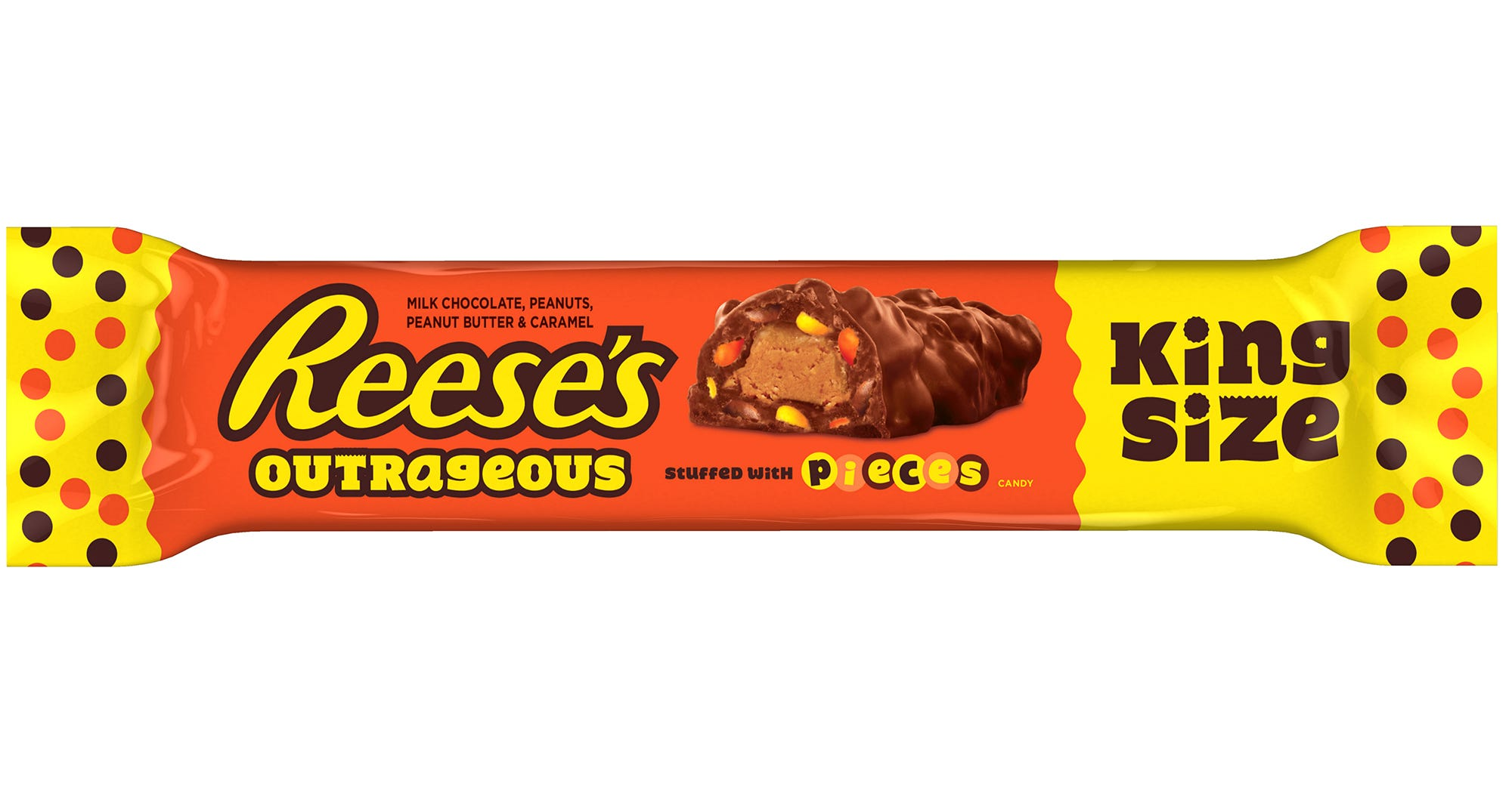 Home Life Hacks New Reeses Outrageous Candy Bar