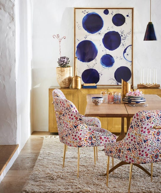 Anthropologie Finnia Rug: Artfully Walls Anthropologie Exclusive Art Collection
