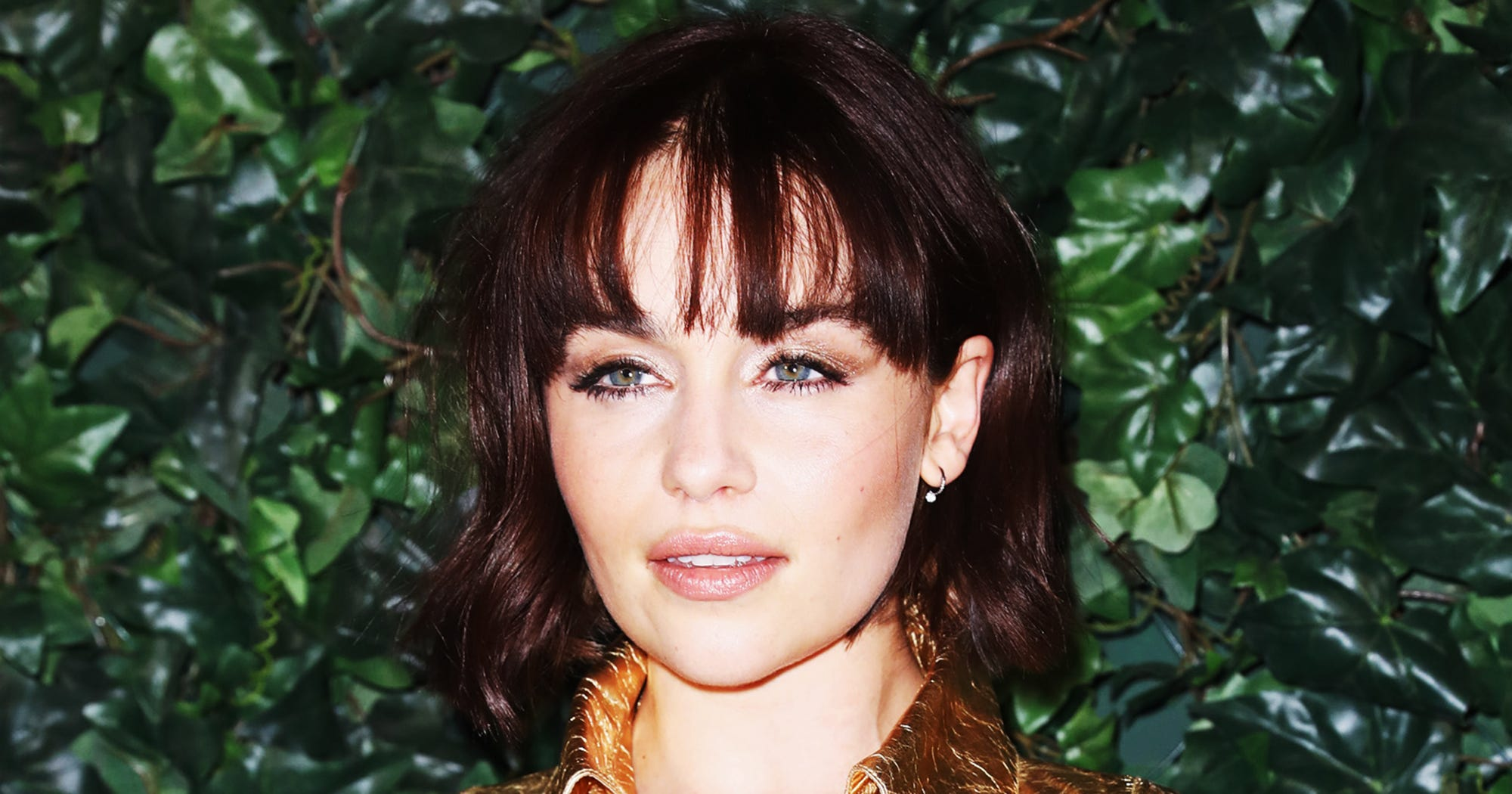 Game of Thrones actress Emilia Clarke watched her fiery