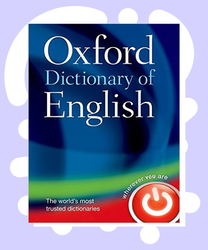 New Oxford Dictionary Entries