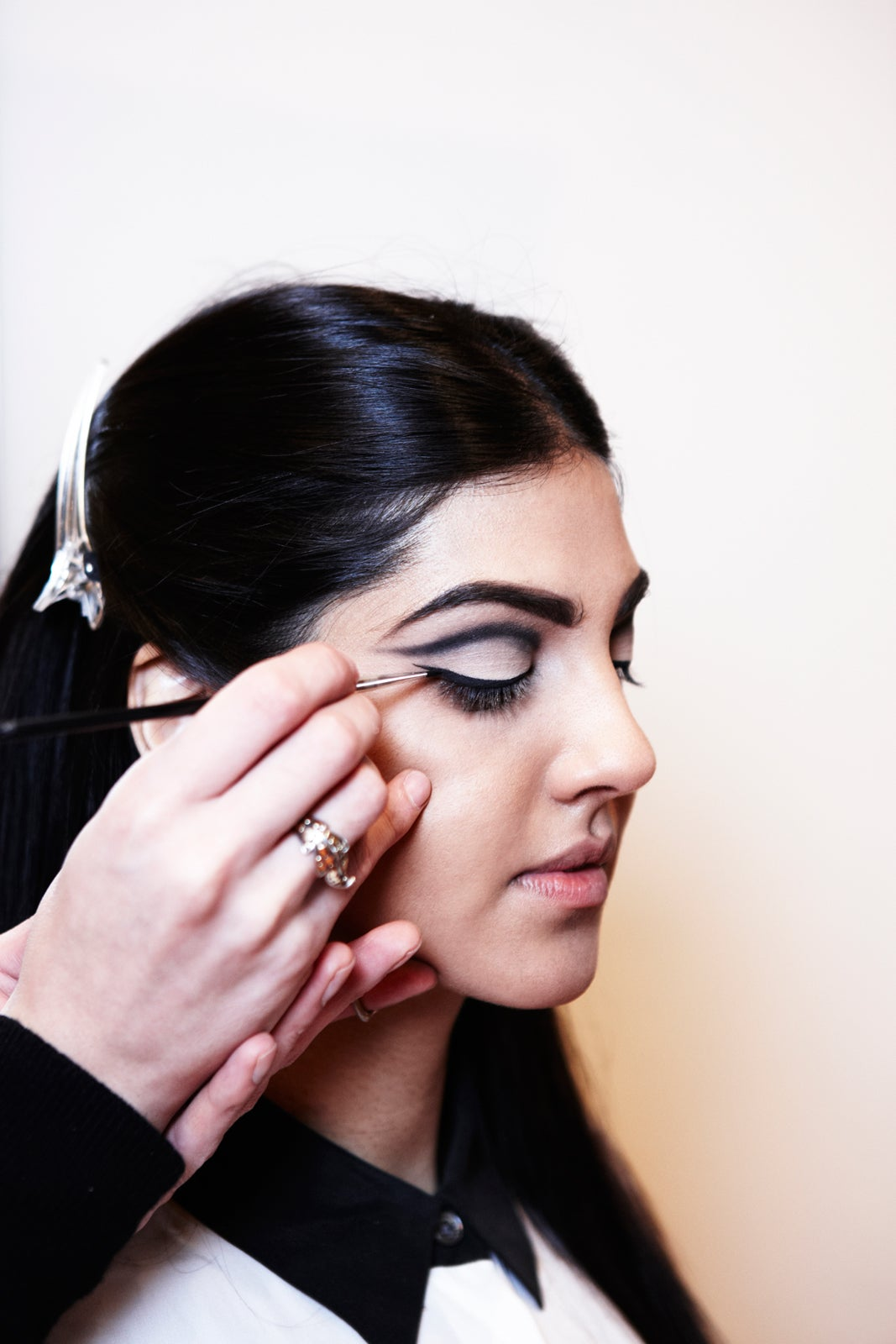 Model Looks - Runway Makeup
