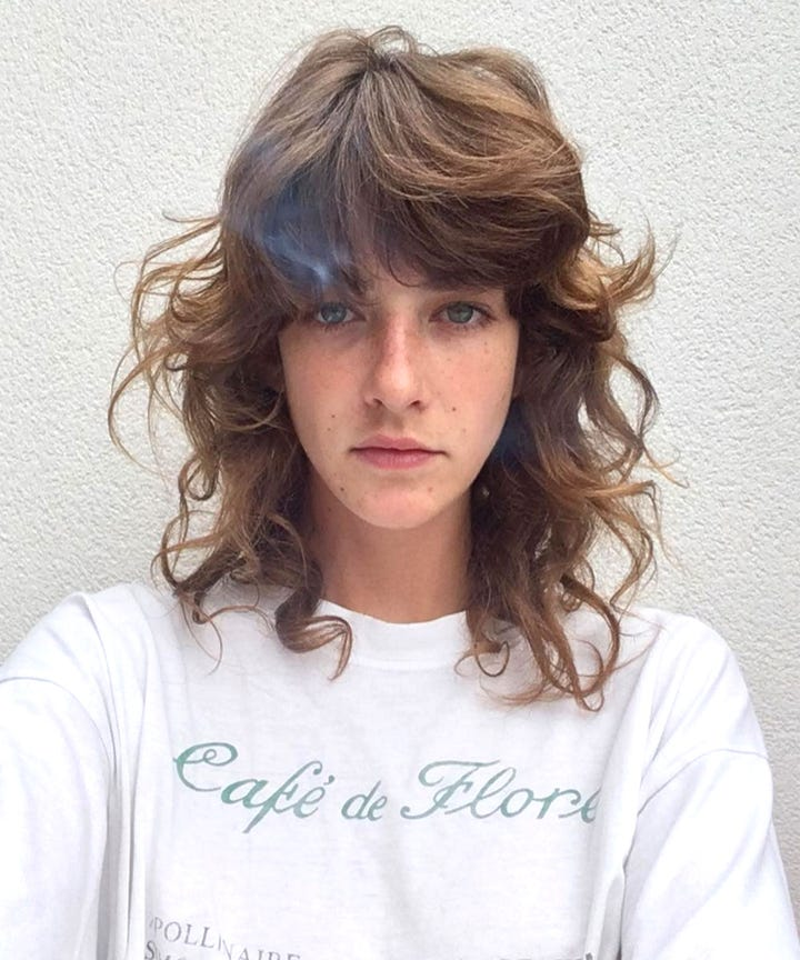 Female Mullet Hairstyles Photos Hairstyles