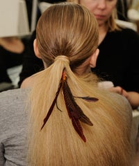 6 Feathered Hair Accessories To Wear