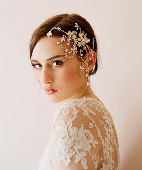 Unique Bridal Headpieces: OPENERL