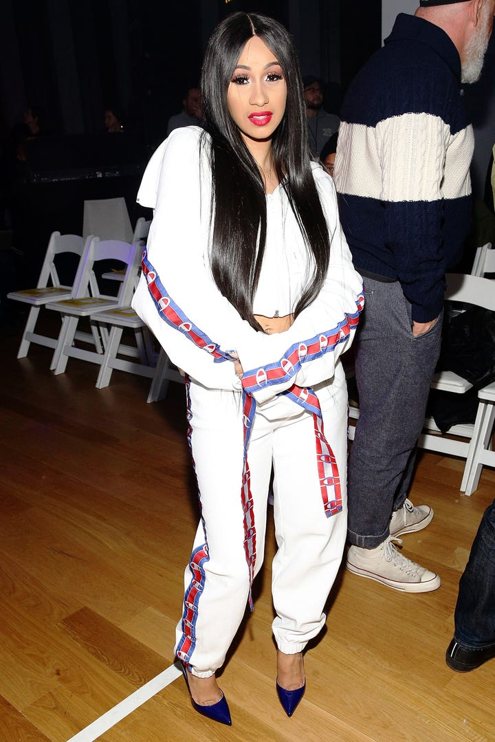 Cardi B Rapper Style Looks Photos BET Awards Outfit