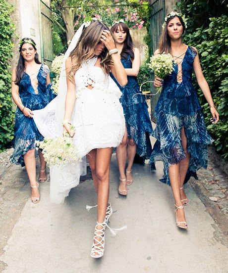 Erica Pelosini Capri Wedding Pictures Bridal Ideas