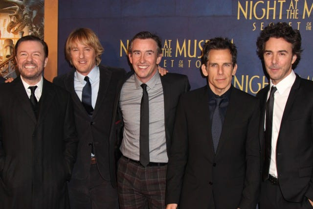 Night At The Museum Cast Robin Williams Tribute