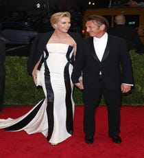 Charlize Theron & Sean PennLadies and gentleman, behold Hollywood's newest power couple. Fans have had to subsist on paparazzi shots of Theron and Penn at the grocery store or on vacation, but now there's real-life, red-carpet proof that they're madly in love.