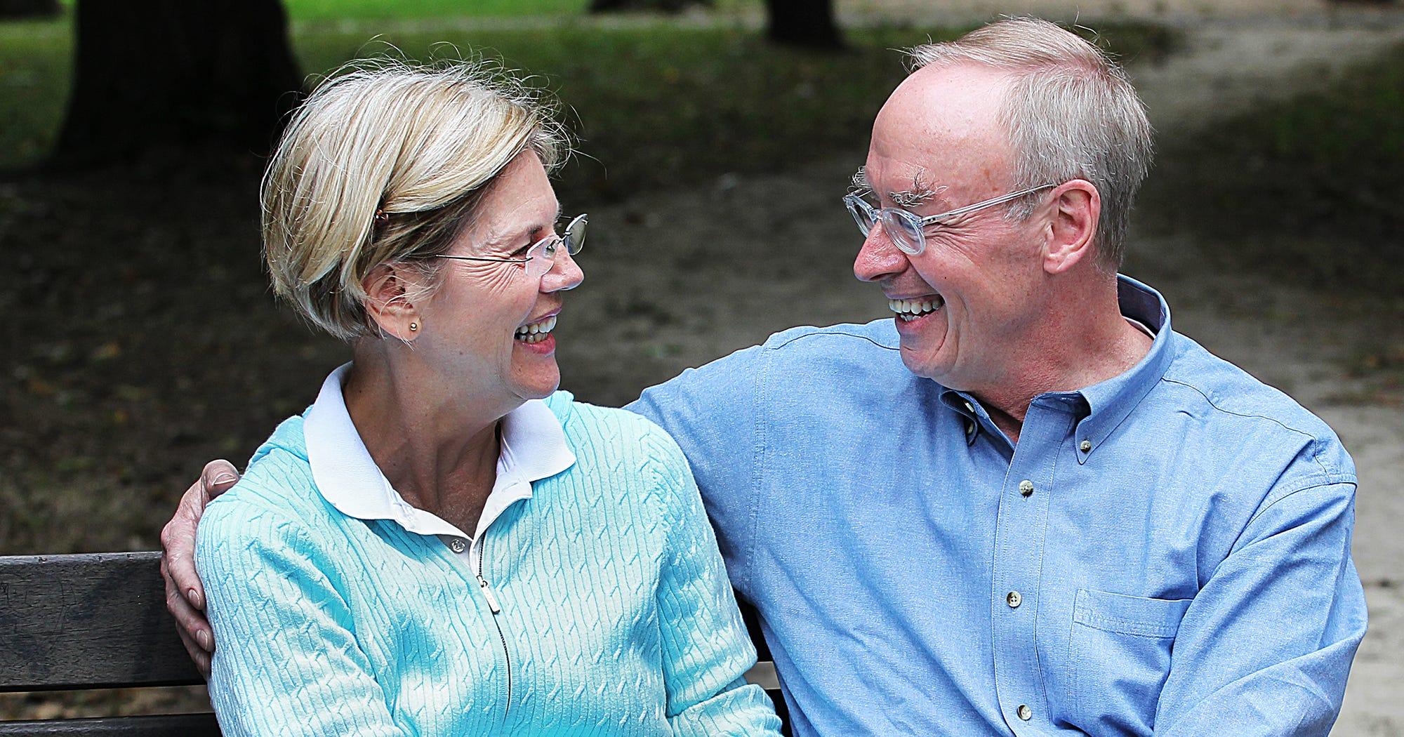 Elizabeth Warren Husband Bruce Mann Anniversary Gift