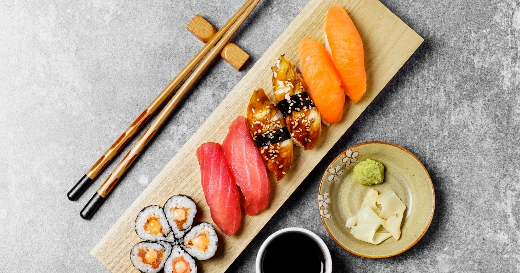 sushi wasabi ist gar kein wasabi. Black Bedroom Furniture Sets. Home Design Ideas