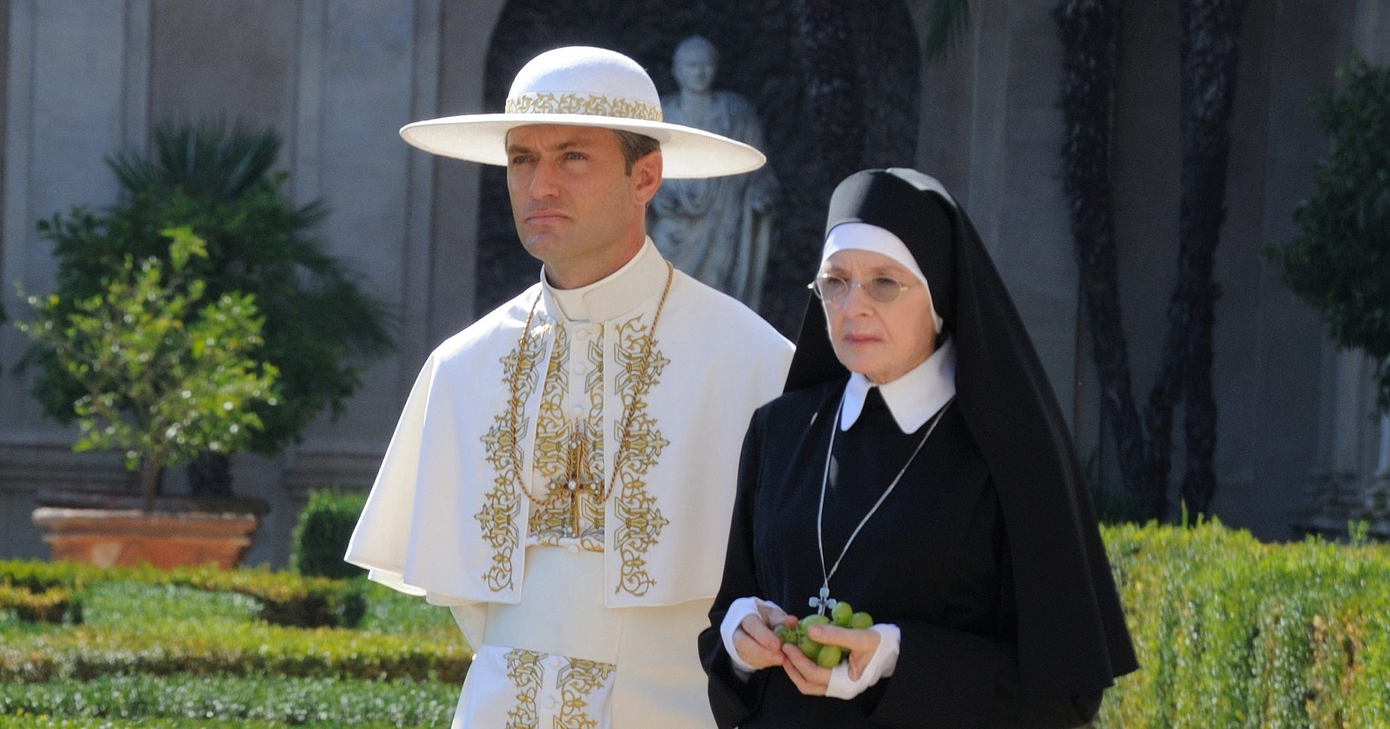 the young pope sex