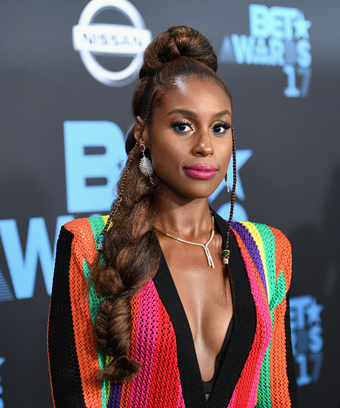 Issa Rae Yara Shahidi BET Awards 2017 Mix Up Awkward AF
