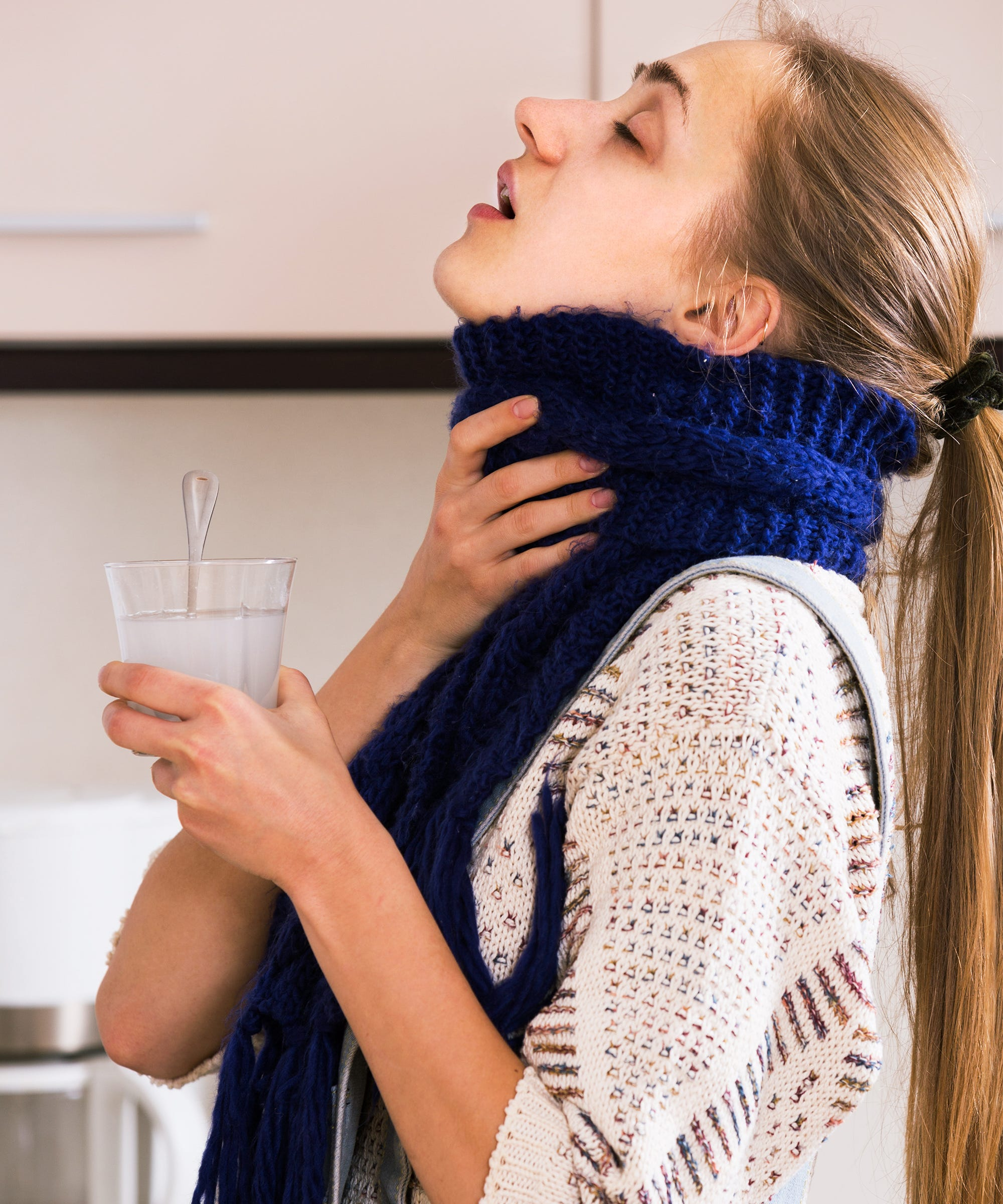 How To Get Rid Of Sore Throat Fast, Painful Swallowing