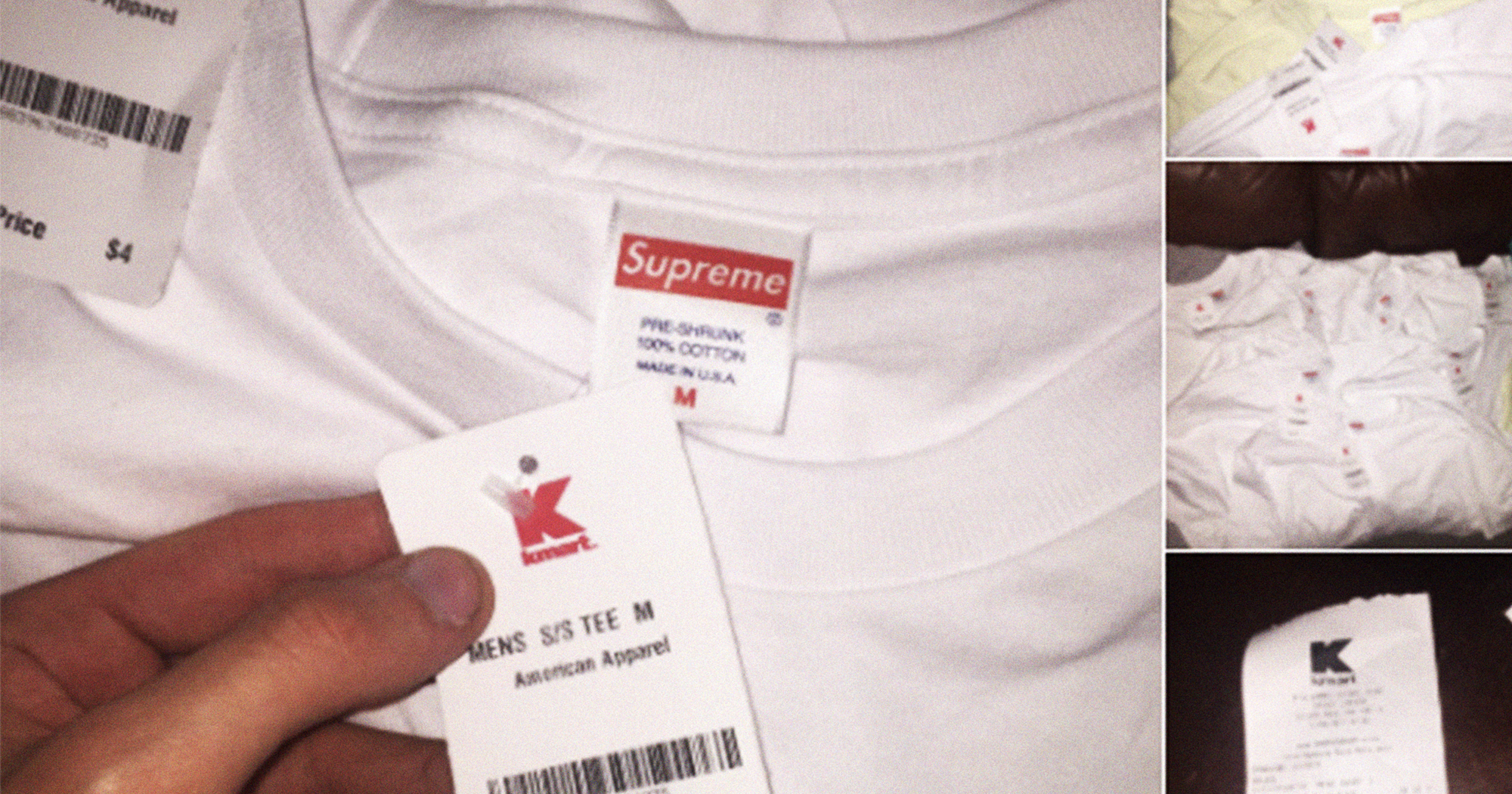 Cheap Supreme T Shirts Kmart Four Dollar