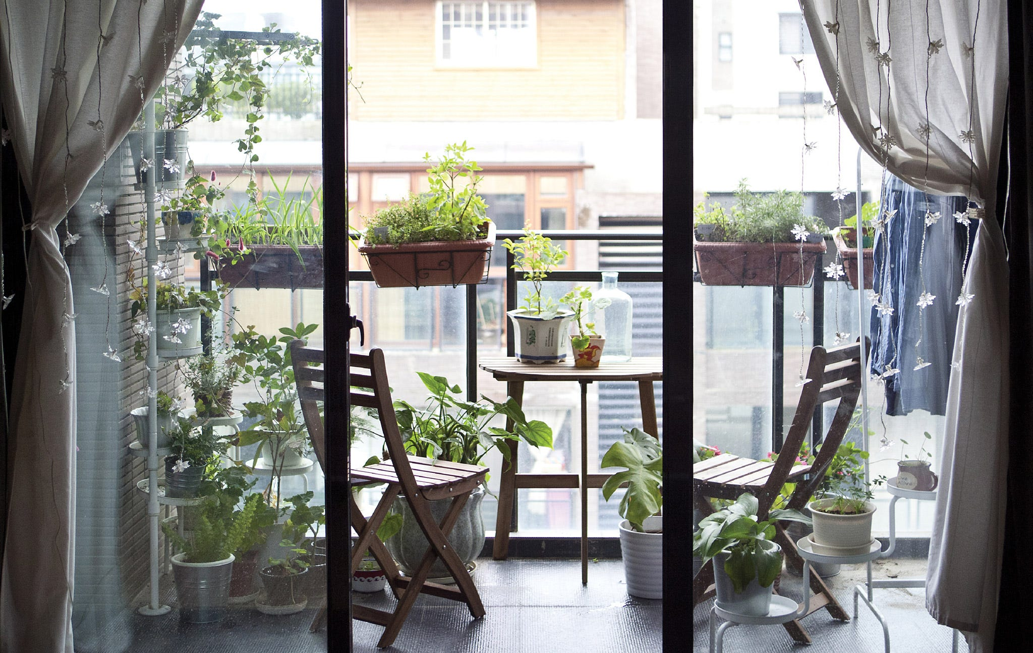 Small Balcony Ideas Apartment Inspiration