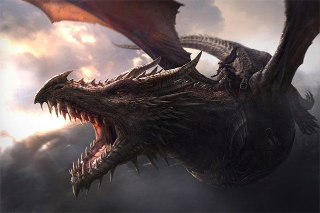 This Is A Picture Of How Big Khaleesi's Game of Thrones Dragons Will Get