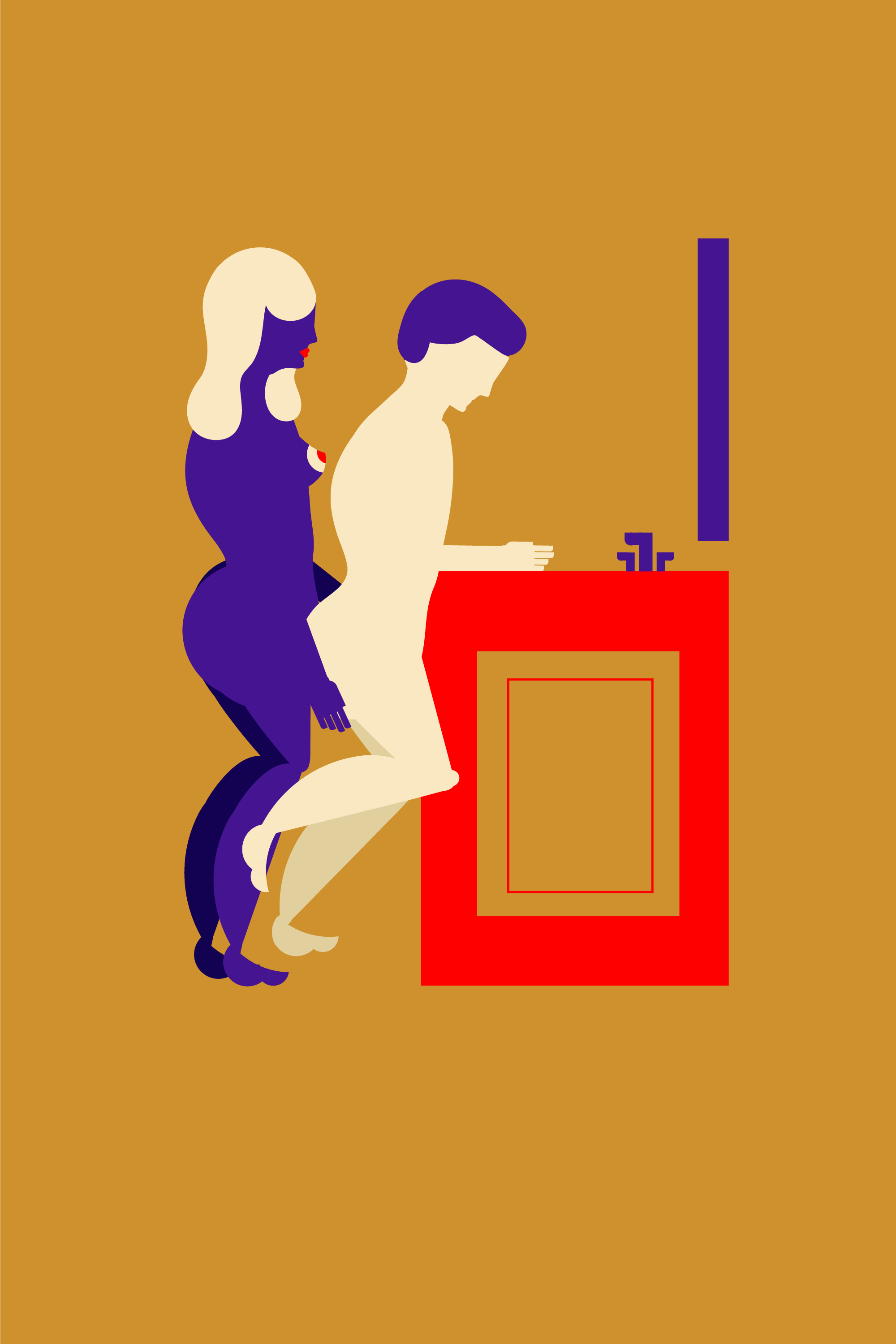 illustrated standing sex positions