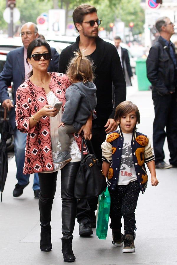 kim kardashian khloe kourtney fashion outfits